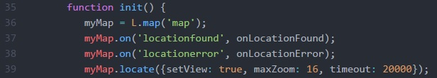 Location JavaScript